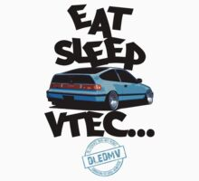 DLEDMV -Eat Sleep Vtec Kids Clothes