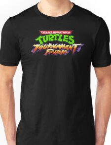 TMNT Tournament Fighters (SNES Title Screen) Unisex T-Shirt