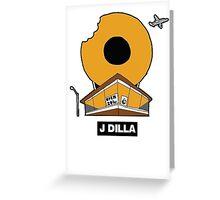 J DILLA DONUTS Greeting Card