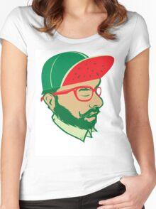 Watermelon Boy Women's Fitted Scoop T-Shirt