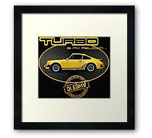 DLEDMV - Turbo is my religion Framed Print