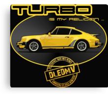 DLEDMV - Turbo is my religion Canvas Print