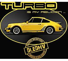 DLEDMV - Turbo is my religion Photographic Print