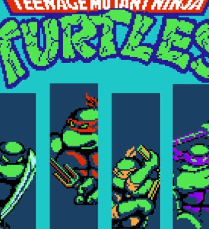 Teenage Mutant Ninja Turtles (NES) Sticker