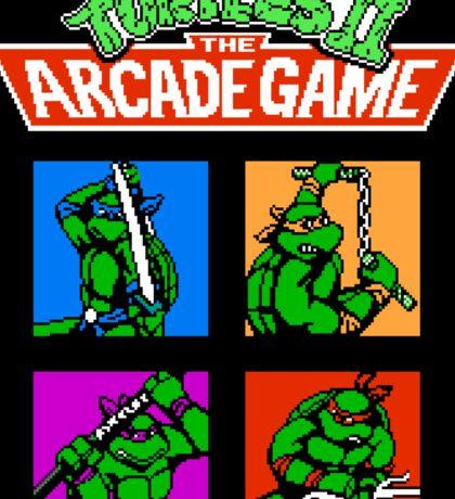 Teenage Mutant Ninja Turtles 2 (NES) Sticker