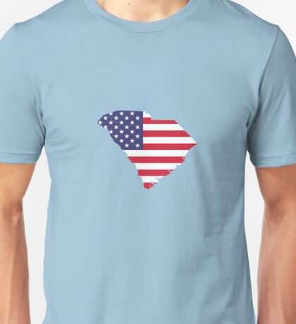 4th Of July South Carolina State Unisex T-Shirt