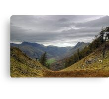 Langdale Views Canvas Print