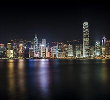 Hong Kong Skyline by Tim Ng