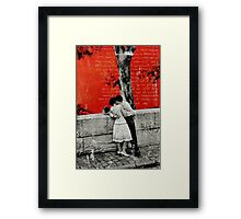 TO BE ALONE WITH YOU Framed Print