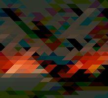 Geometric Pattern 7 by Jamie Harrington