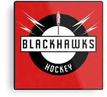 Blackhawks Hockey Metal Print