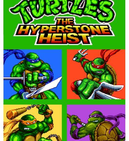 TMNT Hyperstone Heist (Genesis) Sticker
