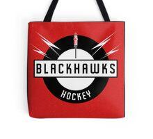 Blackhawks Hockey Tote Bag