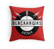 Blackhawks Hockey Throw Pillow