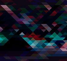 Geometric Pattern 8 by Jamie Harrington