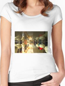 The World Upside Down - City Life Women's Fitted Scoop T-Shirt
