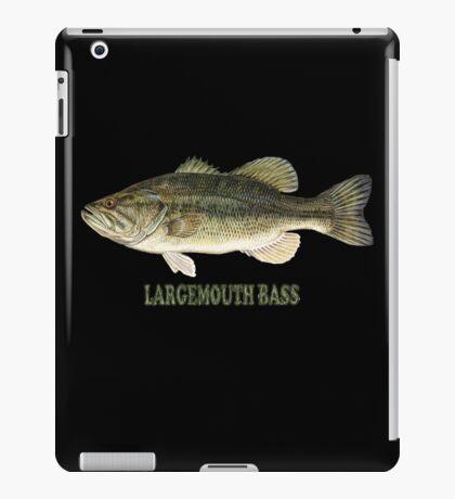 Largemouth Bass (T-shirt) iPad Case/Skin
