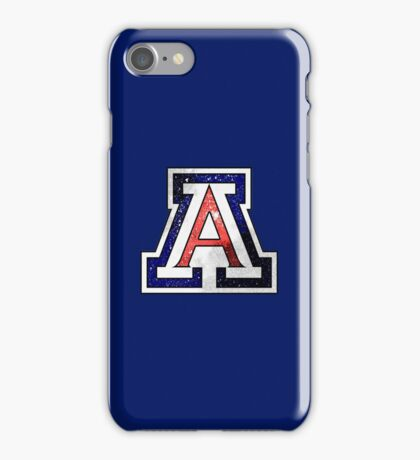 Galaxy University of Arizona iPhone Case/Skin