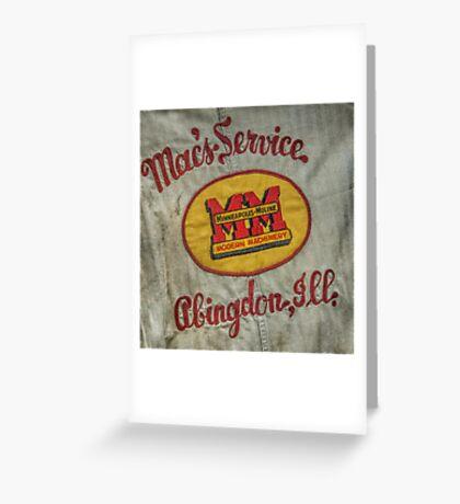 10688 Macs Service Greeting Card