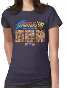 the King of Fighters '98 (Neo Geo Character Select) Womens Fitted T-Shirt