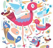 love little bird by singpentinkhepi