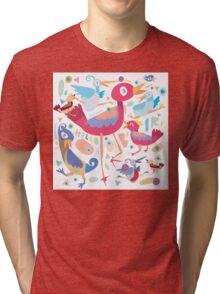love little bird Tri-blend T-Shirt