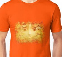 Face in autumn leaves Unisex T-Shirt