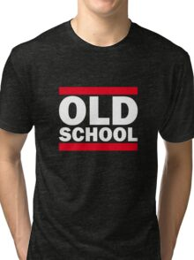 Old School Tri-blend T-Shirt