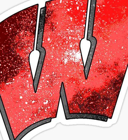 Galaxy University of Wisconsin Sticker