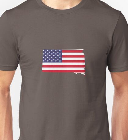 4th Of July South Dakota State Unisex T-Shirt