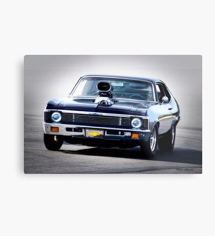 1968 Chevrolet Nova 'Pro Street' I Metal Print