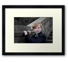 Little Scot Framed Print