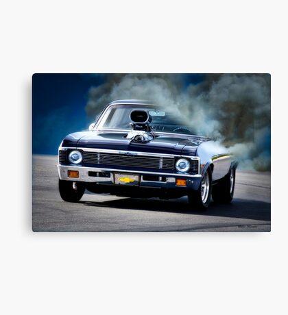 1968 Chevrolet Nova 'Smok'n Pro Street'  Canvas Print