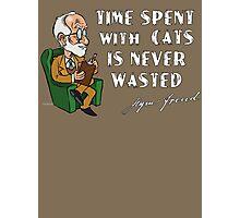 Sigmund Freud - Analyze Me Photographic Print