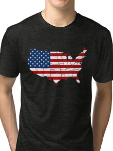 USA - America T-Shirt Tri-blend T-Shirt