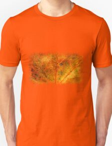 Fall maple leaf texture 3 Unisex T-Shirt