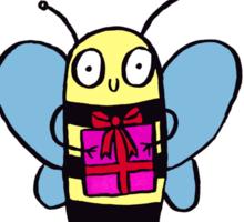 Ha-BEE Birthday! Sticker