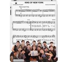 King of New York - Newsies iPad Case/Skin