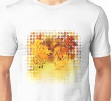 Fall maple leaves 4 Unisex T-Shirt