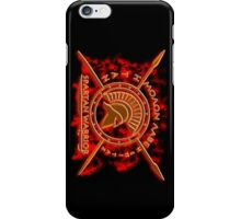 Spartan warrior - Molon lave and come back with your shield or on it! iPhone Case/Skin