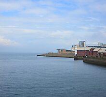 Sea, Edinburgh, Scotland by bbgon