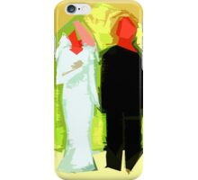 THE BLUSHING BRIDE AND GROOM 2 iPhone Case/Skin