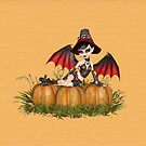 Demon Witch and the Pumpkins by LoneAngel