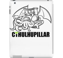 A very hungry Cthulhupillar iPad Case/Skin