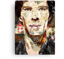 Ephemera I: Sherlock Holmes Canvas Print
