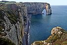 The Cliffs of Etretat, Normandy: The Manneporte by cclaude