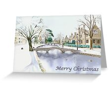 Bourton-on-the-water I Greeting Card