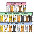 Celebarting the anniversary of your heart transplant. by KateTaylor