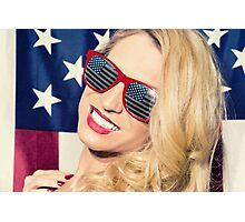 American Blonde Beauty 8842 Photographic Print