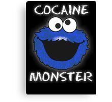 Cocaine Monster Canvas Print